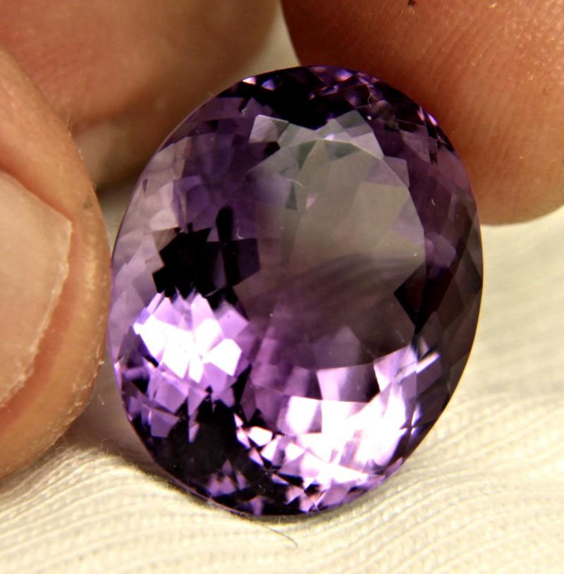 25.18 Carat VVS Vibrant Purple Amethyst - Gorgeous