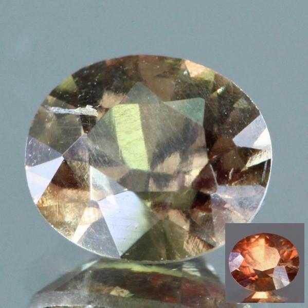 Rare Vanadium Colour Change Garnet from Bekily (Madagascar)