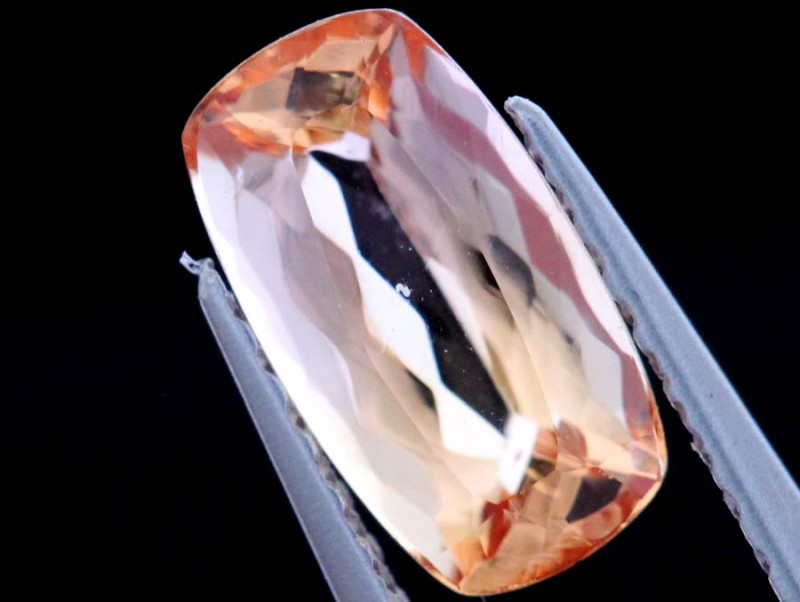1.00CTS CERTIFIED IMPERIAL TOPAZ FACETED GEMSTONE TBM-1366