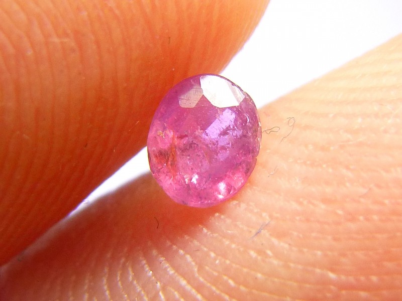 0.33cts Natural Ruby , Untreated Gemstone