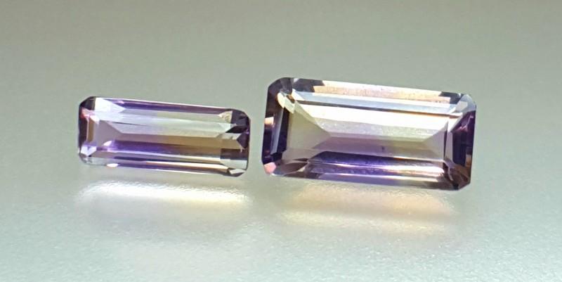 14.20 Crt Natural Ametrine Faceted Gemstone (R 96)