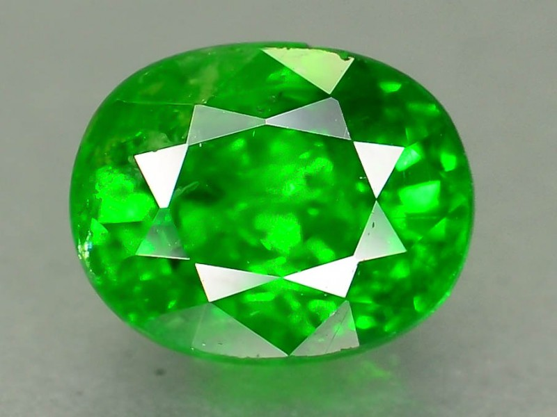 1.08 ct Tsavorite Garnet from Tanzania SKU.1