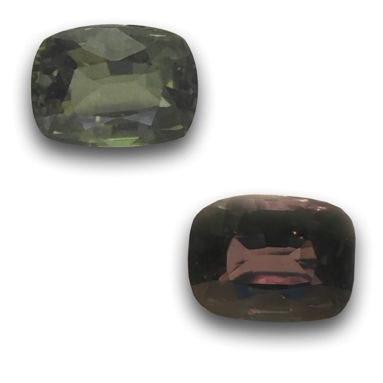 Natural Color Changing Sapphire  Loose Gemstone  Sri Lanka - New