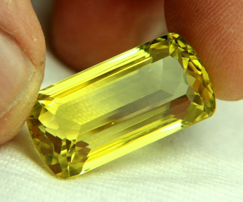 27.52 Carat VVS Natural African Lemon Quartz - Gorgeous