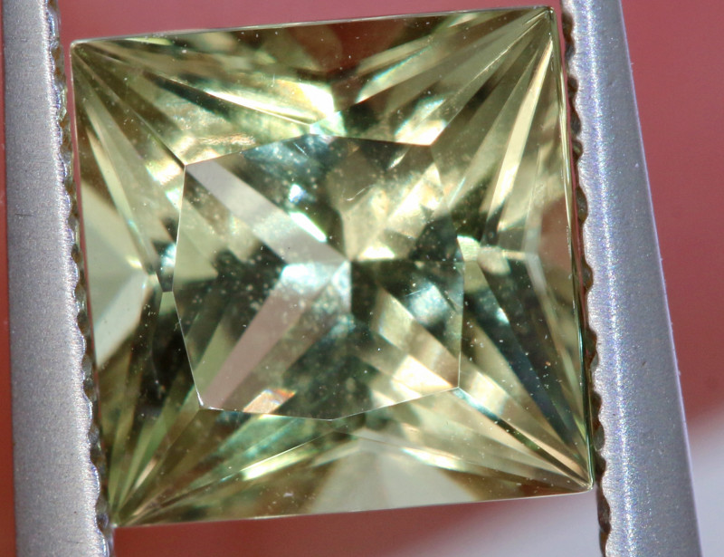 1.3CTS CERTIFIED DIAPSORE FACETED TURKEY RARE MINERAL TBM-1387