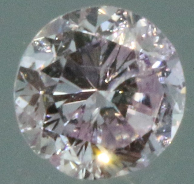 0.255 CTS CERTIFIED ARGYLE PINK P7 DIAMOND . 0411171