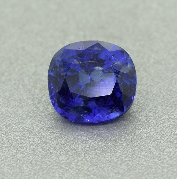 Certified Cushion Ceylon Blue Sapphire 1.66 Ct. (00503)