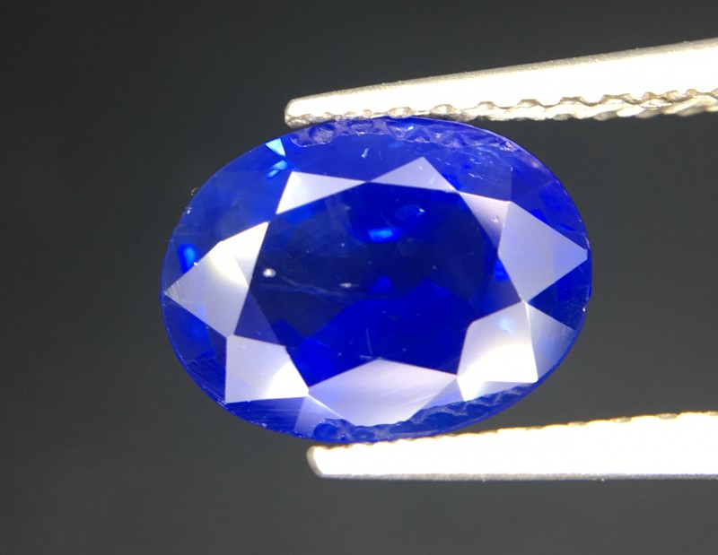 1.65 Crt Natural Sapphire Faceted Gemstone
