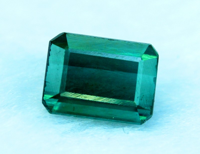 white background photo on stock green tourmaline gemstones gemstone