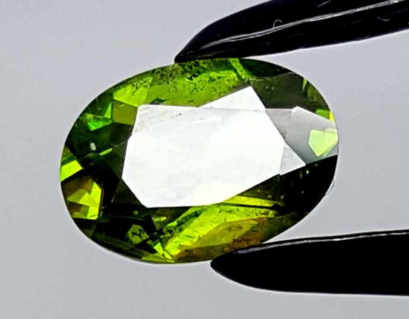 1.15 CT GREEN SPHENE TITANITE BEST QUALITY GEMSTONE IGC77