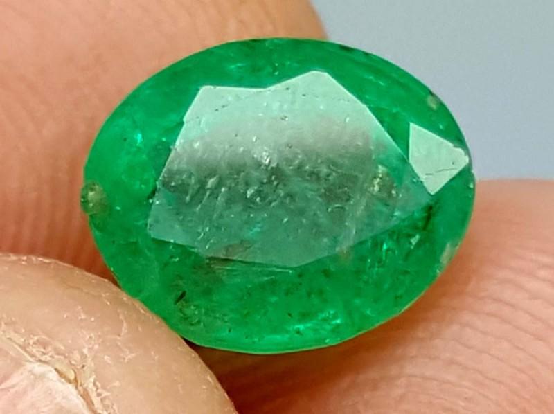 100% Natural Zambian Emerald 2.75 Crt jle07
