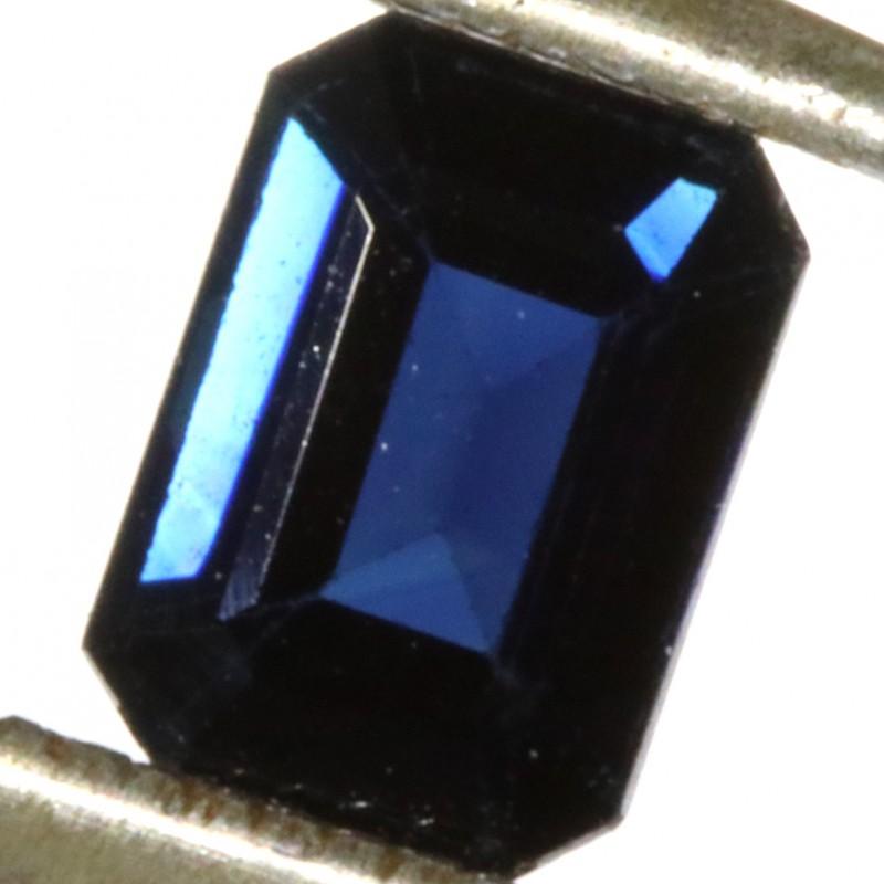 1.37 CTS CERTIFIED  BLUE SAPPHIRE -MADAGASCAR[SM715]SA