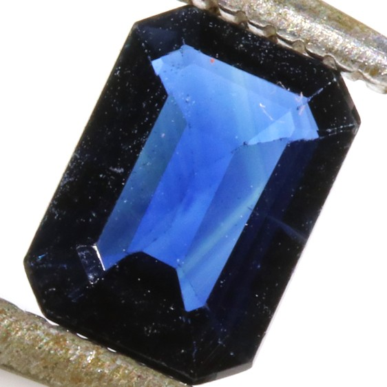 0.82 CTS CERTIFIED UNHEATED  BLUE SAPPHIRE -MADAGASCAR[SM176]SA