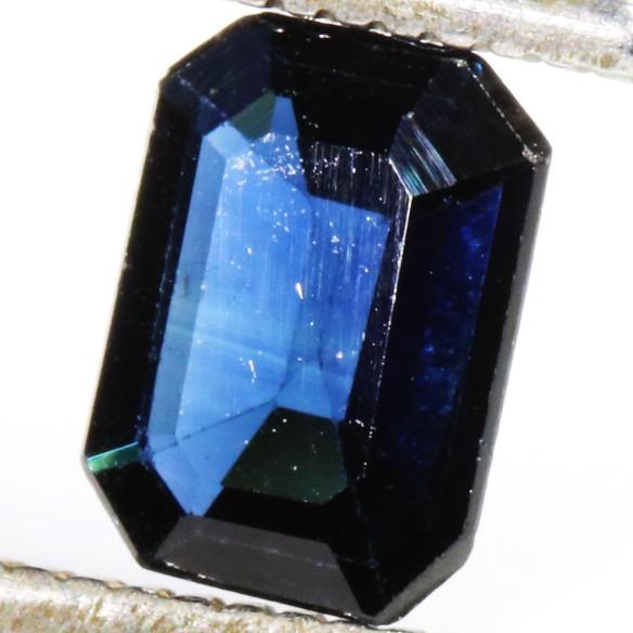 1.00 CTS CERTIFIED  BLUE SAPPHIRE -MADAGASCAR[SM717]SA