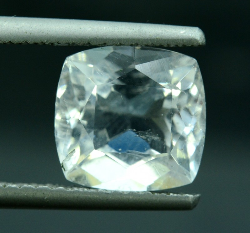 4.35 cts Untreated Rare Clear Pollucite Gemstone from Kunar