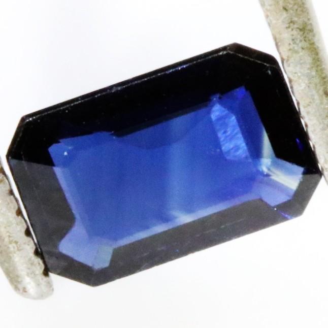 0.95 CTS CERTIFIED  BLUE SAPPHIRE -MADAGASCAR[SM720]SA
