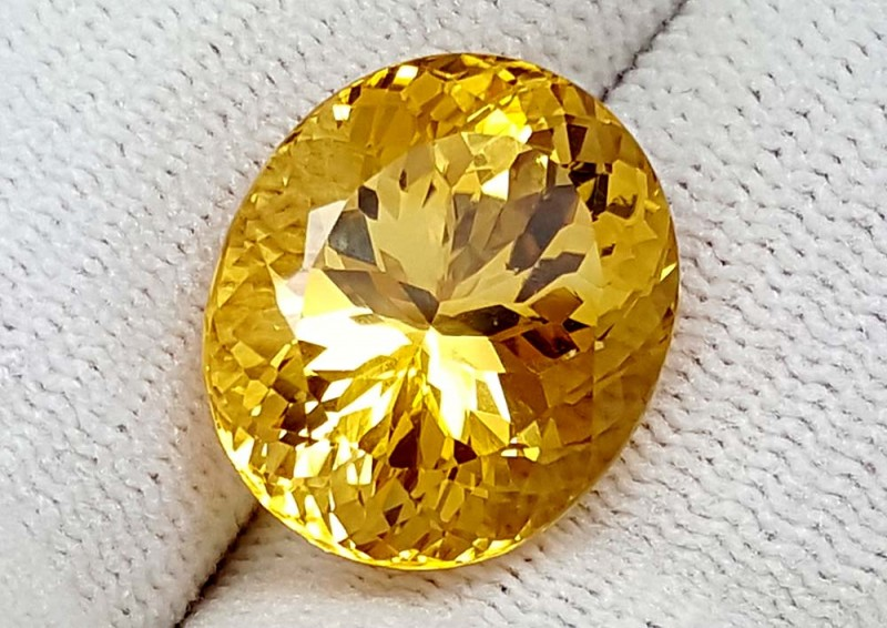 Gia Imperial Topaz 15 64ct Collectors Gemstones