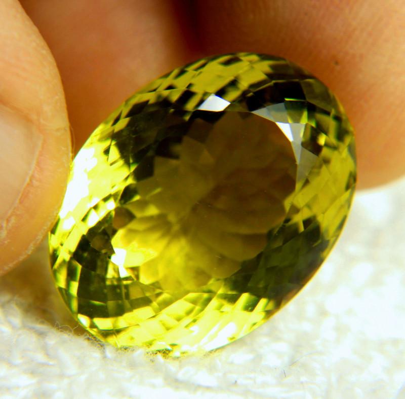 33.53 African Golden VVS Lemon Quartz