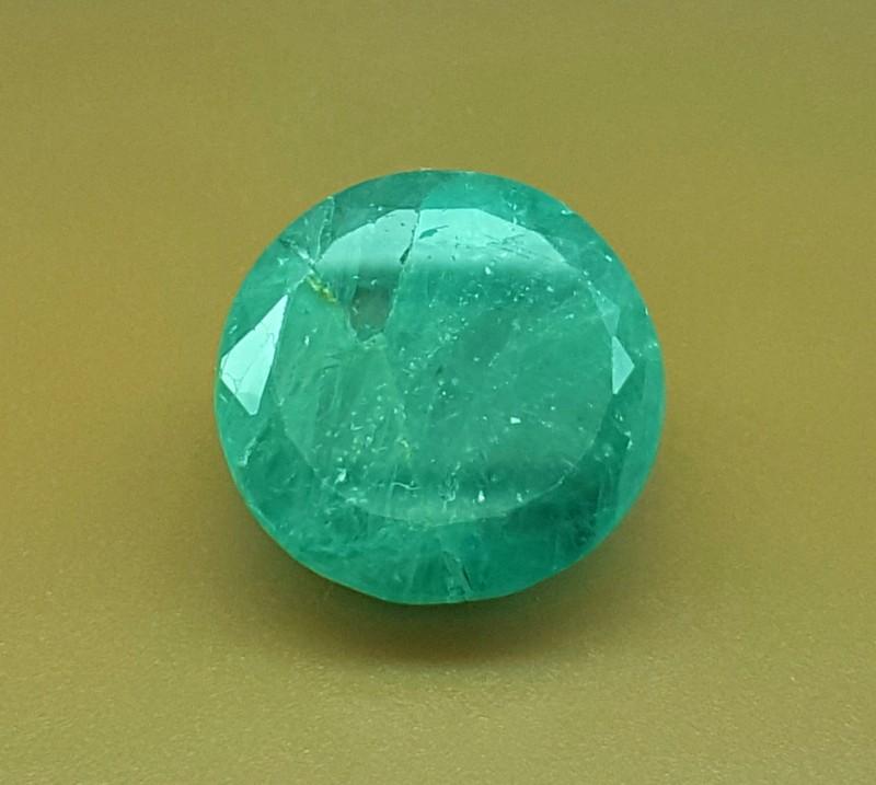 13.35 Crt Natural Rare Grandidierite Faceted Gemstone (R 105)