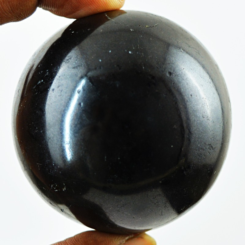 Genuine 1234.50 Cts Black Spinel Healing Ball - Wow