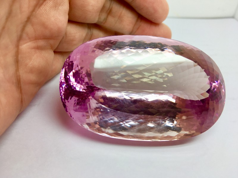 723.55 Crt Natural Rare Kunzite Faceted Gemstone