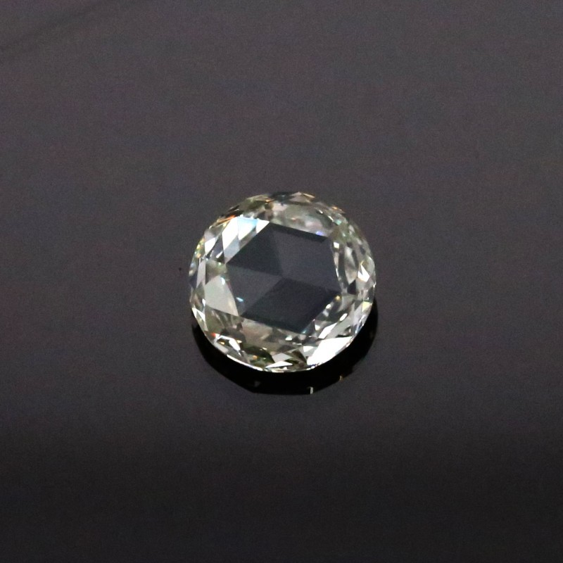 1 02 Ct Natural J K Color Round Rose Cut Diamond
