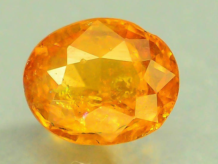 0.60 ct Natural Hessonite Garnet