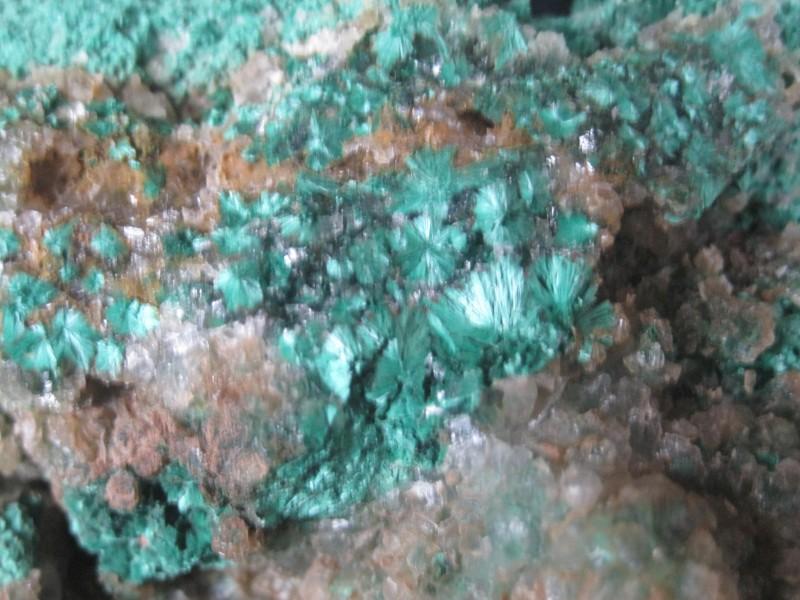 Very Rare Malachite specimen Copper Queen Mine Brisbee,Az. Metropolis colle