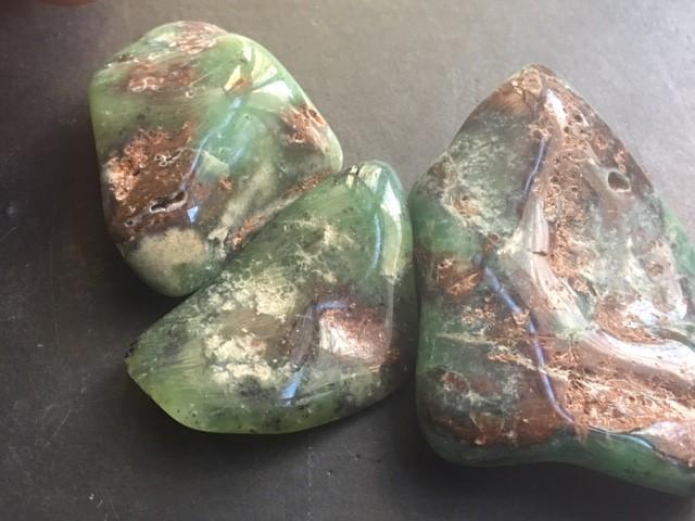 Parcel 3 Australian jade ,Chrysoprase ppp 1776