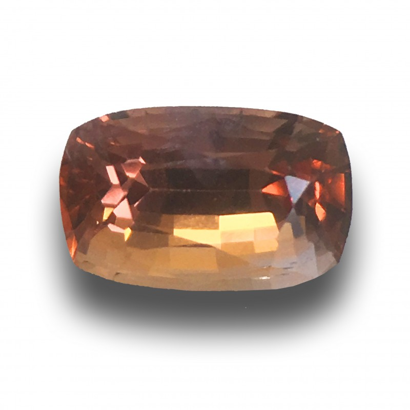 Natural  Pinkish Orange Sapphire  Loose Gemstone  Sri Lanka - New