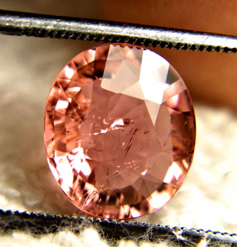 4.29 Carat SI Pink Tourmaline - Gorgeous