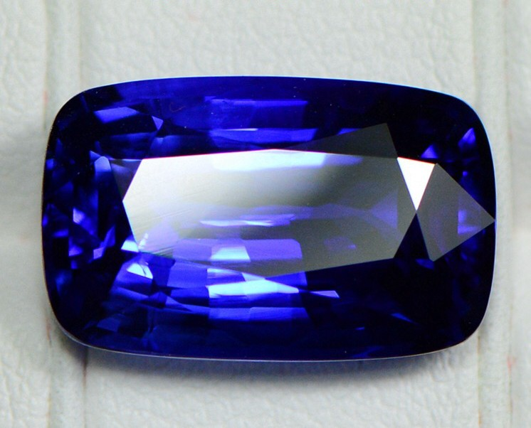 12.90Cts Royal Blue Sapphire GRS Certified Cushion Shape