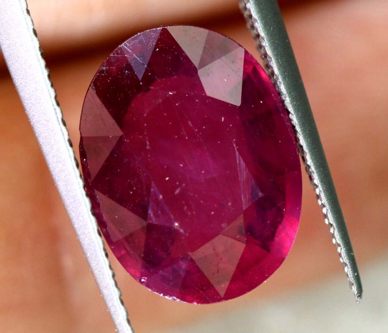 4.55 CTS CERTIFIED RUBY NATURAL FACETED CG-2354