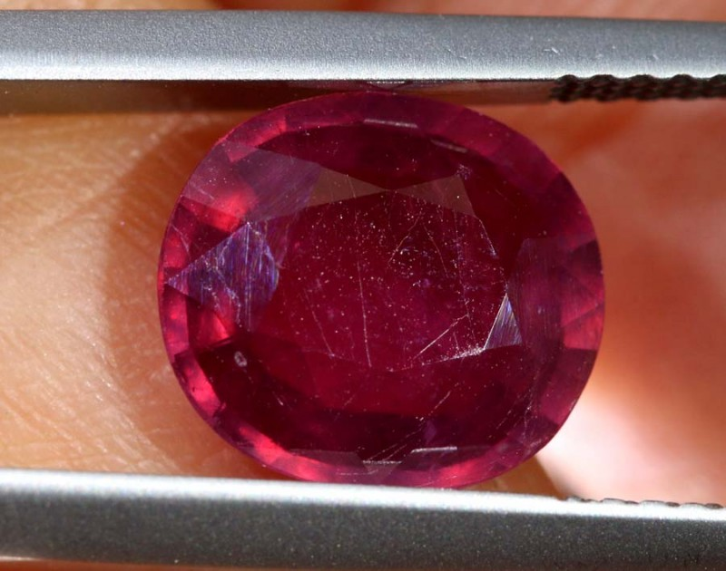 3.09 CTS CERTIFIED RUBY NATURAL FACETED CG-2361
