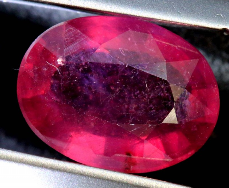2.82 CTS CERTIFIED RUBY NATURAL FACETED CG-2365