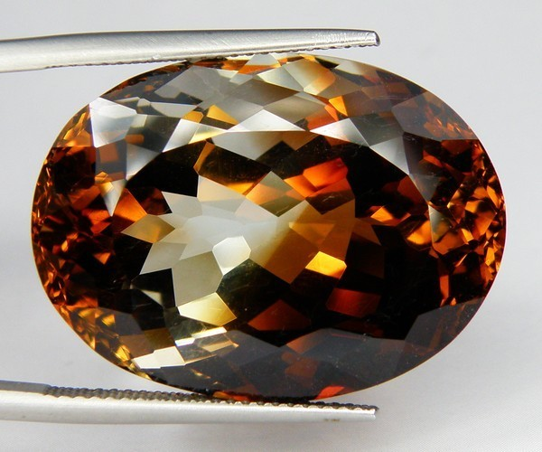 CERTIFIED Bi COLORED ~ TOPAZ ~ 61+CT's BRAZILIAN BEAUTY