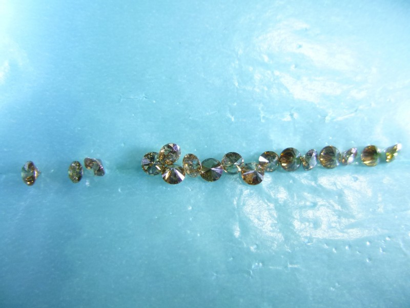 2.30ct Fancy Colored Diamond Parcel, 100% Natural Untreated
