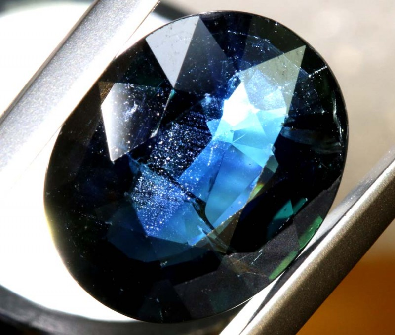 2.085 CTS NATURAL  SAPPHIRE FACETED TBM-1401