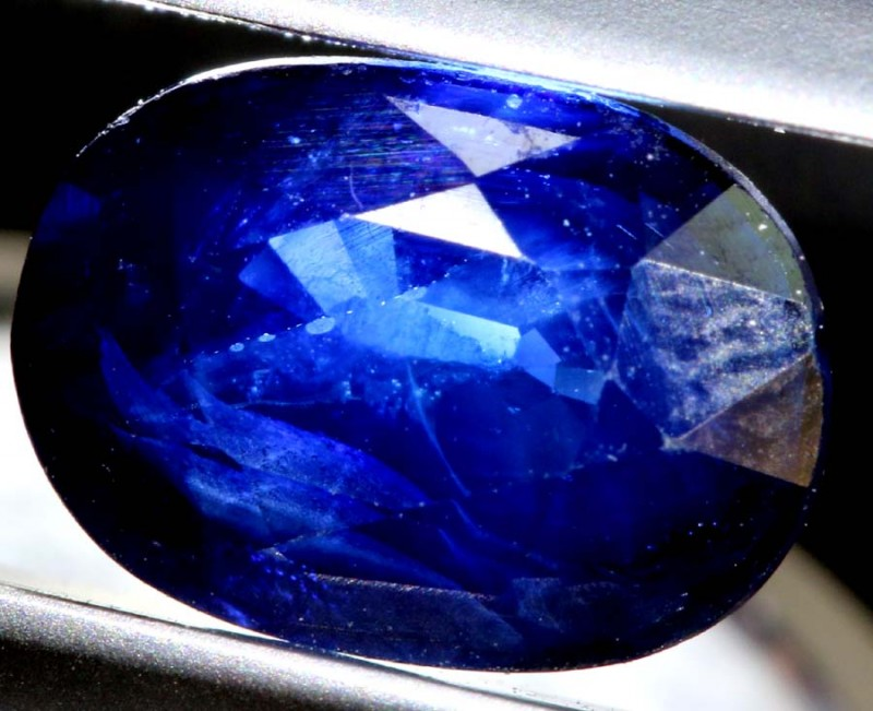 2.47 CTS NATURAL  SAPPHIRE FACETED TBM-1403