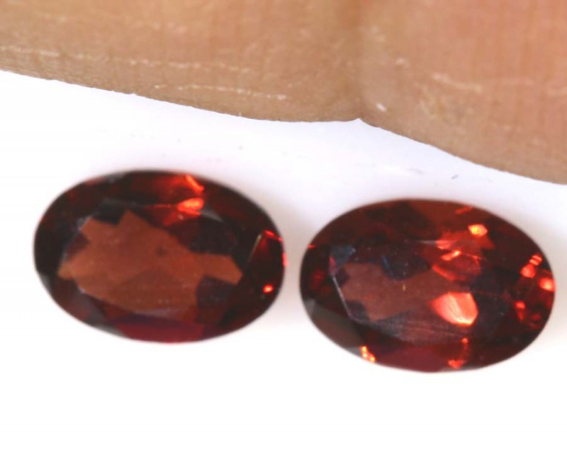 1.20 CTS GARNET FACETED NATURAL STONE TBG-2805
