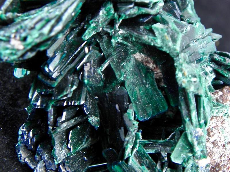 Very Rare Malachite PS Azurite specimen Milpillas Mine Cananea Sonora Mexic
