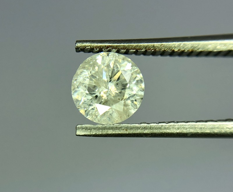 063crt Certified Natural Diamond Gemstone Good Quality