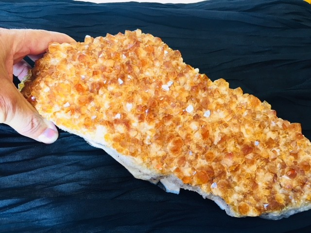 2.89 Kilo Golden beautiful  hue Citrine specimen CIT6