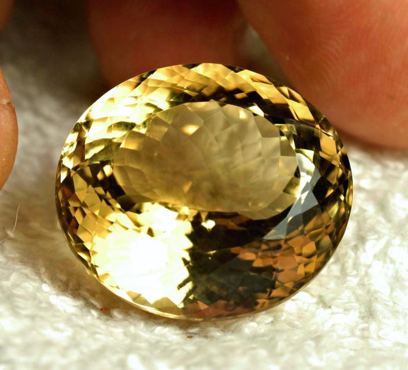 47.3 Carat VVS1 Golden Citrine - Gorgeous