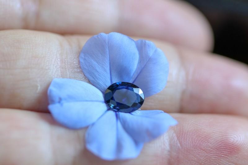 1.17 CTS CERTIFIED UNHEATED BLUE SAPPHIRE -MADAGASCAR[2711179]SA