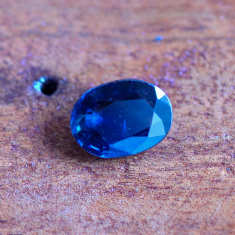 1.34 CTS CERTIFIED UNHEATED BLUE SAPPHIRE -MADAGASCAR[27111717]SA