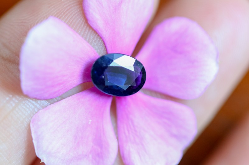 1.09 CTS CERTIFIED  BLUE SAPPHIRE -MADAGASCAR[27111727]SA