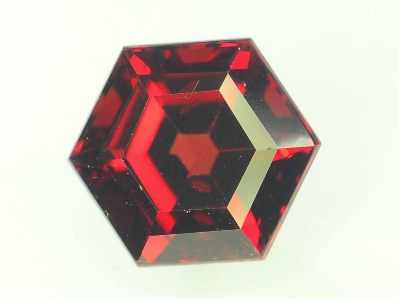 3.0 ct Natural Laser Cut Red Rhodolite Garnet