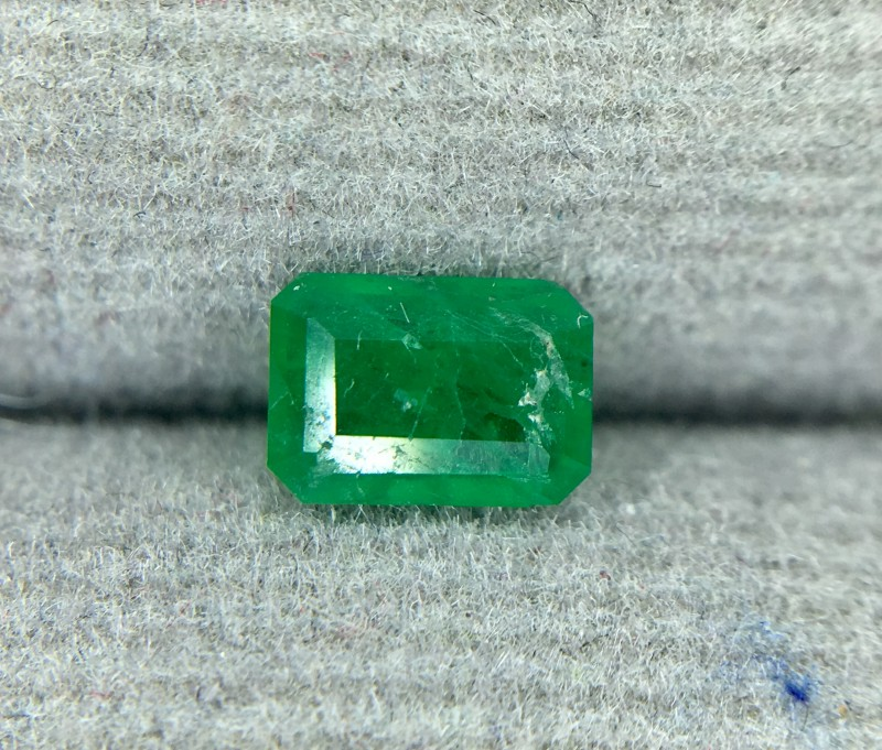 0.50 CRT Natural Swat Emerald Good Color Gemstone L5