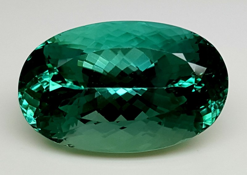 30Crt Top Green Spodumene Best Faceted Gemstones GS11